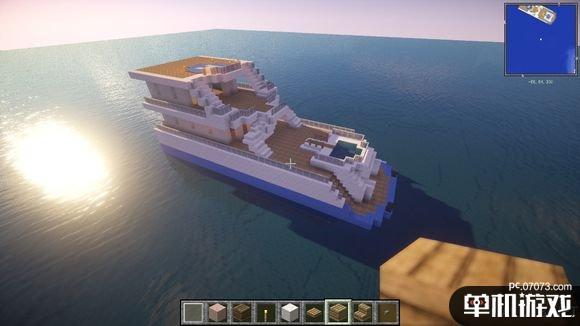 我的世界gta5游艇建造教程