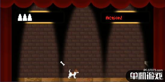 《狗剧院》上线steam 还原fc时代的经典游戏马戏团