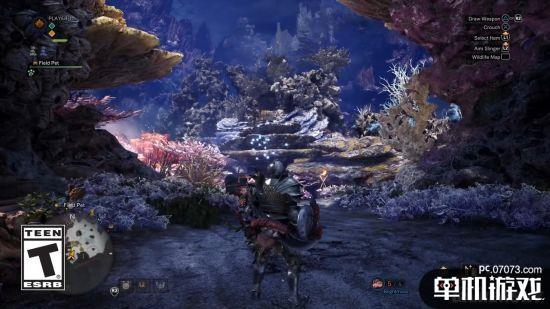 《怪物猎人:世界》新演示 迷幻的珊瑚高原狩猎