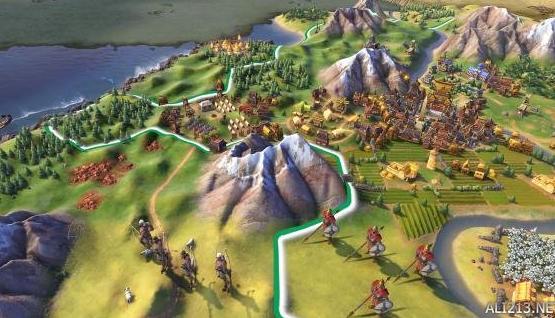 《文明6》玩家自制巨型地图Mod 地球全貌一览无余!