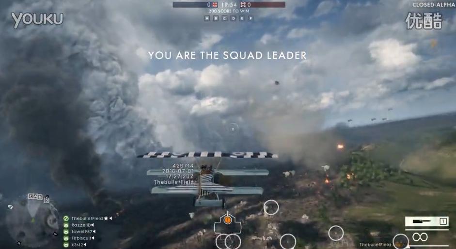 战地1打飞机视频 空战视频