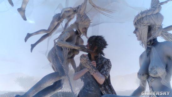 最终幻想15低等级无脑刷核爆魔法视频