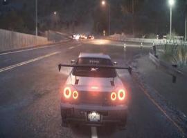 《极品飞车19》R34踉踉跄跄比赛视频
