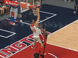 NBA2K17完美十佳球视频欣赏第一期