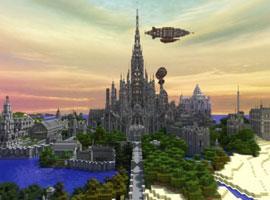 牛人沉迷 我的世界 5年打造出雄伟城堡