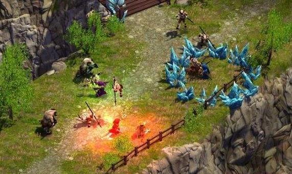 魔法对抗战斗游戏截图