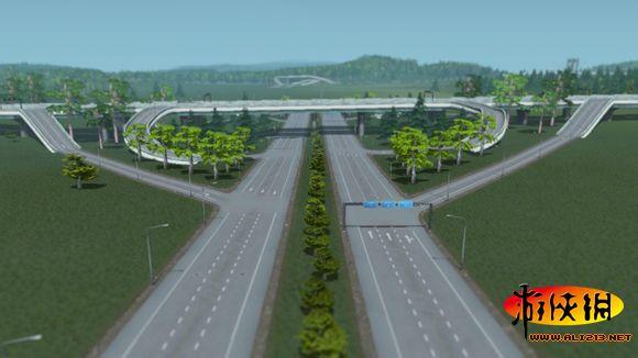 天际线 多种立交桥模板推荐图片