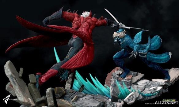 《鬼泣4:特别版》推出斯巴达之子雕像!但丁对决维吉尔