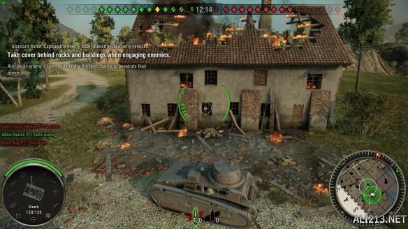 PC的胜利 坦克世界 PS4 XB1 PC画面对比